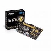 Asus H81M-PLUS LGA1150 socket H81 chipset DDR3 upto 16Gb 1600Mhz uATX