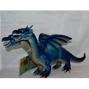 Animal Planet 17 inch Two-Headed Foam Dragon - Blue