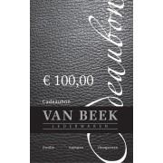 VAN BEEK COLLECTION Cadeaubon cadeaubon € 100