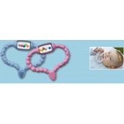 Inel Gingival CuraBaby pentru Bebelusi (Periuta + Jucarie) - Baieti/Fete