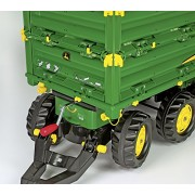 Rolly Toys 125043 - Veicolo a Pedali Multitrailer John Deere, 3 Pezzi Assortiti