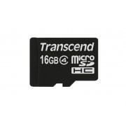 Micro SDHC card (16GB class 4) Transcend