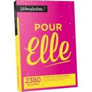 Wonderbox - Coffret cadeau - Pour Elle- Spécial Noël - Tous nos coffrets