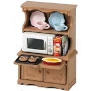 "Epoch Sylvanian Families Sylvanian Family Doll ""Kitchen Cabinet & Microwave Set Ka-413"""