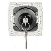 Galea Life kulcsos kétpólusú redőnykapcsoló + nyomó mechanizmus (775856), Legrand
