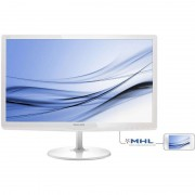 Monitor LED Philips 247E6EDAW/00 23.6 inch 5ms White