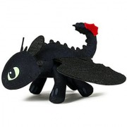 Dreamworks Dragons Action Dragon 8 Plush Toothless Action Figure