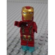 Lego Minifig Super Heroes 167 Iron Man Mk43 A