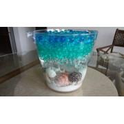 Jelly Bead Z Make Your Own 4 Color Hawaiian Islands Ocean Water Bead Gel 4 Packs 10 Grams Per Pack