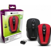 Mouse Laptop Wireless Canyon CNR-MSOW06R Red