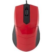Mouse Optic Logic LM-13, USB, 1000 DPI (Rosu)