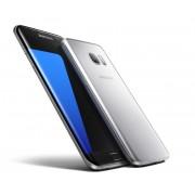 "Smartphone, Samsung GALAXY S7 Edge, 5.5"", Arm Quad (2.15G), 4GB RAM, 32GB Storage, Android 6.0, Silver (SM-G935FZSABGL)"