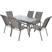 Set masa si sase scaune HECHT SOFIA
