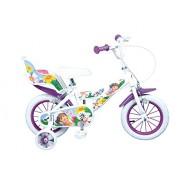 """Toimsa - 1250 - Vélo pour Enfant - Dora l'Exploratrice - Fille - 12"""" - 3 à 5 ans"""