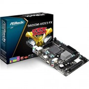 MB ASRock 960GM-VGS3 FX, Sc AM3+, AMD 760G, 2xDDR3, VGA, mATX