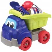Set de nisip cu maşină Écoiffier 508 albastru-verde