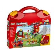 LEGO® Juniors Valiza Pompieri 10685