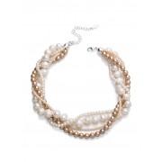 Walbusch Kette Perlenspiel Beige