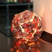 Meteorit-Leuchte, Tischleuchte, 35 cm Durchmesser, 6 W LED