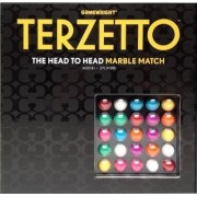 Terzetto: The Head to Head Marble Match Board Game by Ceaco