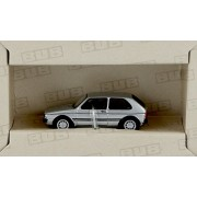 Vw Golf I Gti, Silver, 0, Model Car, Ready Made, Bub 1:87