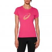 asics Graphic Koszulka do biegania różowy Koszulki do biegania krótki rękaw