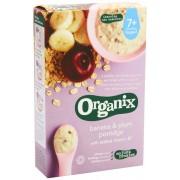 Organix - Cereale cu Ovaz, Orez, Banane si Prune 7+ luni (200g)