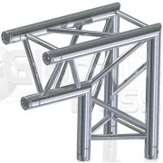 Global Truss F33, D90 ángulo, C25 3 puntos