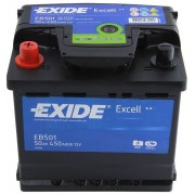 Acumulator EXIDE 50Ah 450A Borna Inversa