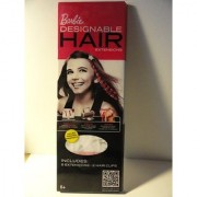 Barbie Designable Hair Extensions (Includes 8 extensions and 2 hair clips