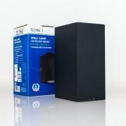 Aplique inox de parede 2WAY 2xGU10 IP44 EDGE bs