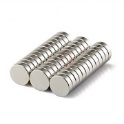 50 Pieces LOT of 10mm x 2mm Round Strong Rare Earth Neodymium Magnets N52