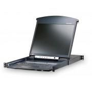 "Aten KL1516NA-I Altusen 16 Port Rackmount USB-PS/2 Cat5 19"" LCD KVM"
