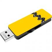 Stick USB 8GB Zigzag USB 2.0 M700 Galben EMTEC