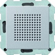 Gira 228226 - Altoparlante radio da incasso, Sistema 55, colore: Alluminio