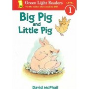 Big Pig and Little Pig by David M McPhail