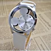 Relojes Mujer Classic New Fashion casual watches women Dress quartz watch Mickey hollow dial leather wristwatch relogio feminino