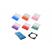 Kit 6 filtre + holder Commlite Graduated Color compatibile Cokin P