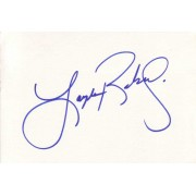 Layla Roberts Autographed Index Card