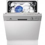 Masina de spalat vase Electrolux ESI5201LOX, Partial Incorporabil, 13 Seturi, Clasa A+, Latime 60 Cm, 5 Programe, 4 Temperaturi, Panou Comanda Inox