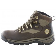 Timberland Chocorua Trail Boots Men Mid GTX Brown with Green 41 Trekking- & Wanderstiefel