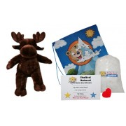 "Make Your Own Stuffed Animal ""Satin Moose"" No Sew Kit With Cute Backpack!"