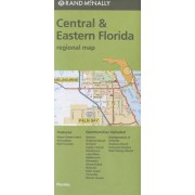 Folded Map Central & Eastern Florida Regional by Rand McNally