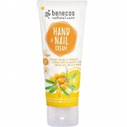 benecos Natural Hand- & Nail Cream Sanddorn & Orange - 75 ml - Handcreme - Kosm