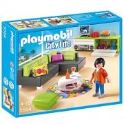 Sala estar moderna Playmobil City Life