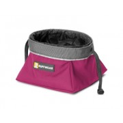 Tazón para perro Ruffwear Quencher Cinch Top Purple Dusk talla M