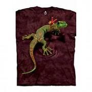 LightInTheBox Tee-Shirts & Gilets Homme Tee-Shirt Pour des hommes A Motifs Décontracté Manches Courtes Coton Roug