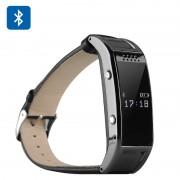 Smart montre bracelet Bluetooth 3.0 - Écran LCD / Supporte synchronisation SMS + Répertoire / Caméra distante / Podomètre / Gestion du sommeil