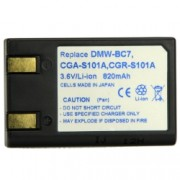Power3000 PL7D.304 - acumulator tip Panasonic CGA-S101A ,DMW-BC 820mAh