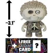 "Dad Ted: ~3.1"" Garbage Pail Kids X Funko Mystery Minis Mini Figure Series #1 + 1 Free Gpk Trading Card/Sticker Bundle [55387]"
